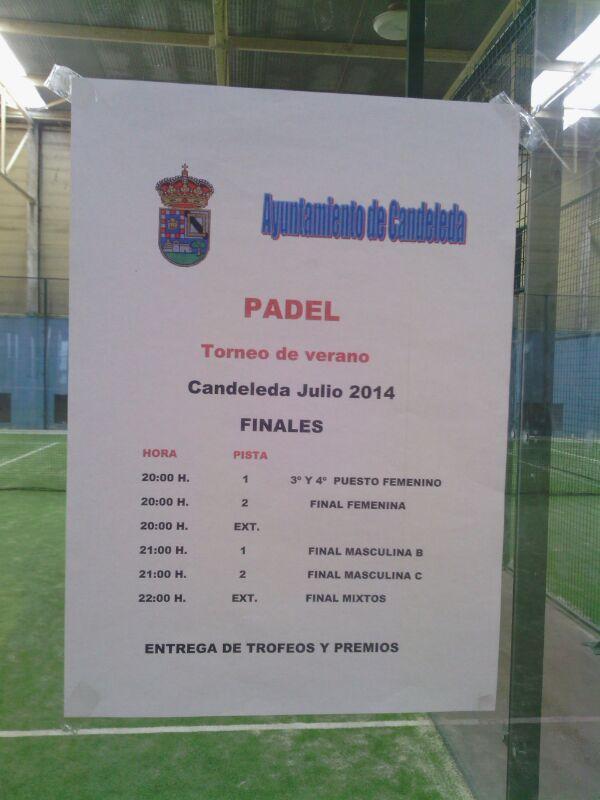 Finales Torneo Semana Candeleda