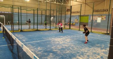 Preparatorio de la Liga de Menores C.D. Vaélico – Aserpádel
