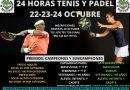 Torneo 24 Horas Tenis y Pádel Club de Tenis Navalmoral